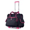 """Olympia Deluxe Fashion 14"""" Overnighter Suitcase"""