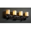 <strong>Justice Design Group</strong> CandleAria Dakota 4 Light Bath Vanity Light