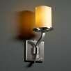 "<strong>Justice Design Group</strong> CandleAria Sonoma 5"" 1 Light Wall Sconce"