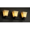 Justice Design Group CandleAria Modular 3 Light Bath Vanity Light