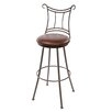 "<strong>Waterbury 25"" Swivel Bar Stool</strong> by Stone County Ironworks"