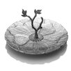 Mikasa Botanic Flower Server with Twig Handle Platter