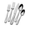 <strong>20 Piece Swirl Flatware Set</strong> by Mikasa