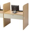 <strong>Laminate Teaching II Carrel Starter</strong> by Smith Carrel