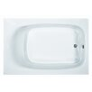 """Reliance Whirlpools Reliance 71"""" x 47"""" Rectangular Whirlpool Tub with End Drain"""