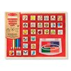 Melissa and Doug Wooden Favorite Things Stamp Set