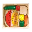 Melissa and Doug 31 Piece Cutting Food Box Play Set