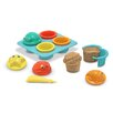 <strong>Melissa and Doug</strong> Seaside Sidekicks Sand Cupcake Set