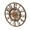 "<strong>Infinity Instruments</strong> 15.5"" Open Dial Gear Wall Clock"
