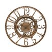 "Infinity Instruments 15.5"" Open Dial Gear Wall Clock"
