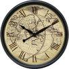 "Infinity Instruments 24"" Columbus Wall Clock"