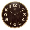 Arbor Wall Clock with Light Wood Case