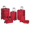 <strong>Travelers Club</strong> Skyview II 6 Piece Luggage Set