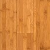 "Horizontal 5-3/8"" Engineered Bamboo Flooring in Carbonized Matte"