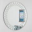 Decor Wonderland Circles Bathroom Mirror