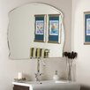 Decor Wonderland Frameless Diane Wall Mirror