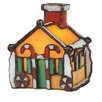 <strong>Gingerbread House Accent Table Lamp</strong> by Meyda Tiffany