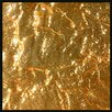 """JSG Oceana 4"""" x 4"""" Glass Tile in 24K Gold"""