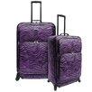 U.S. Traveler Fashion 2 Piece Spinner Luggage Set I