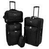 U.S. Traveler Potenza 4 Piece Luggage Set
