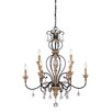 Designers Fountain Bella Maison 9 Light Chandelier