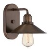 Designers Fountain Newbury Station 1 Light Wall Sconce