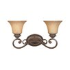 <strong>Designers Fountain</strong> Mendocino 2 Light Vanity Light