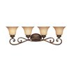 <strong>Designers Fountain</strong> Mendocino 4 Light Vanity Light