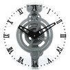 "<strong>Maples Clock</strong> 12"" Moving Gear Wall Clock"