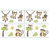 Monkey Time Wall Decal