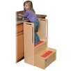 "<strong>Steffy Wood Products</strong> 2-Step ""I Can Reach"" Handy Step Stool"