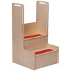 "<strong>2-Step ""I Can Reach"" Handy Step Stool</strong> by Steffy Wood Products"