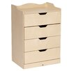 Steffy Wood Products 4-Drawer Dresser