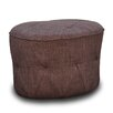 International Design USA Luxe Tufted Ottoman