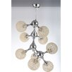 International Design USA Atom 9 Light Chandelier