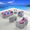 International Design USA Clearview 5 Piece Seating Group
