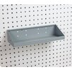 <strong>Triton Products</strong> LocHook 18 In. W x 6-1/2 In. Deep Gray Epoxy Powder Coated Steel Shelf for LocBoard
