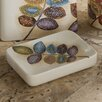 Croscill Home Fashions Mosaic Leaves Soap Dish