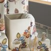 <strong>Croscill Home Fashions</strong> Mosaic Leaves Waste Basket