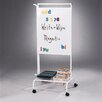 <strong>Deluxe Chart Stand 5.42' x 2.17' White Board</strong> by Copernicus