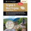 Universal Map Virginia West Virginia Atlas