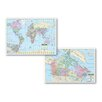 Universal Map Primary Deskpad - Canada / World