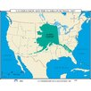 <strong>U.S. History Wall Maps - U.S. Expansion & Alaska Purchase</strong> by Universal Map
