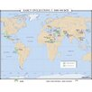<strong>World History Wall Maps - Early Civilizations</strong> by Universal Map