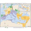 <strong>World History Wall Maps - Europe & Byzantine Empire</strong> by Universal Map