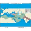 <strong>Universal Map</strong> World History Wall Maps - Turkish Empires