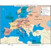 <strong>Universal Map</strong> World History Wall Maps - Napoleon's Empire