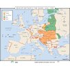 <strong>Universal Map</strong> World History Wall Maps - Europe Between Wars