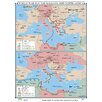 <strong>Universal Map</strong> World History Wall Maps - World War II in Balkans & North Africa