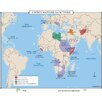 Universal Map World History Wall Maps - United Nations Sanctions